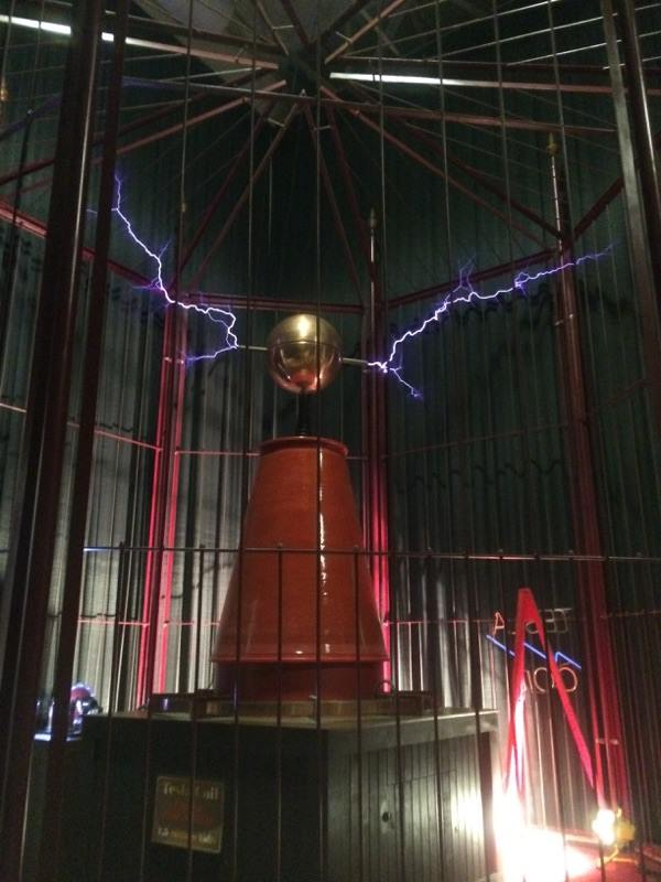 Tesla Coil at Mid-America Museum